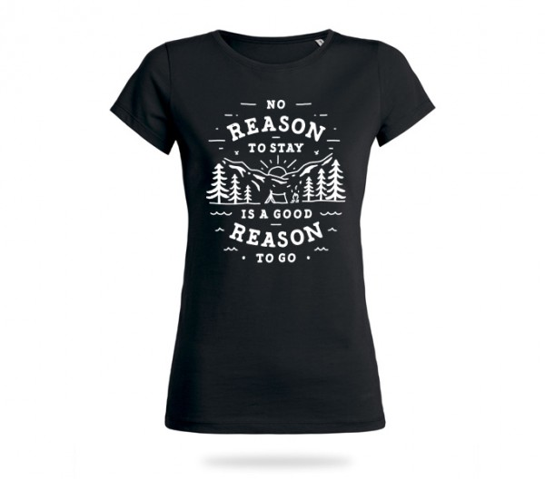 No Reason Shirt Mädels